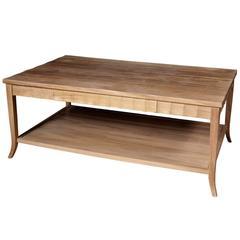 Heritage Wood Coffee Table