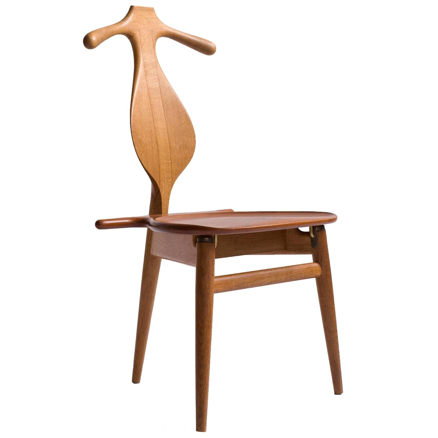 Hans J Wegner 39 Valet Chair 39 For Johannes Hansen At 1stdibs