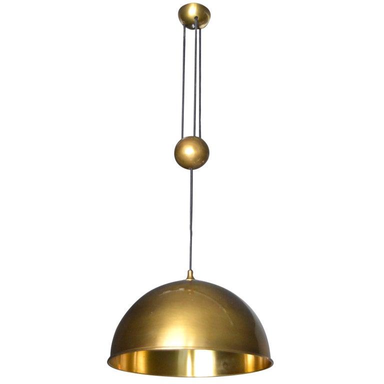 Florian Schulz Dome Counter Balance Pendant For Sale