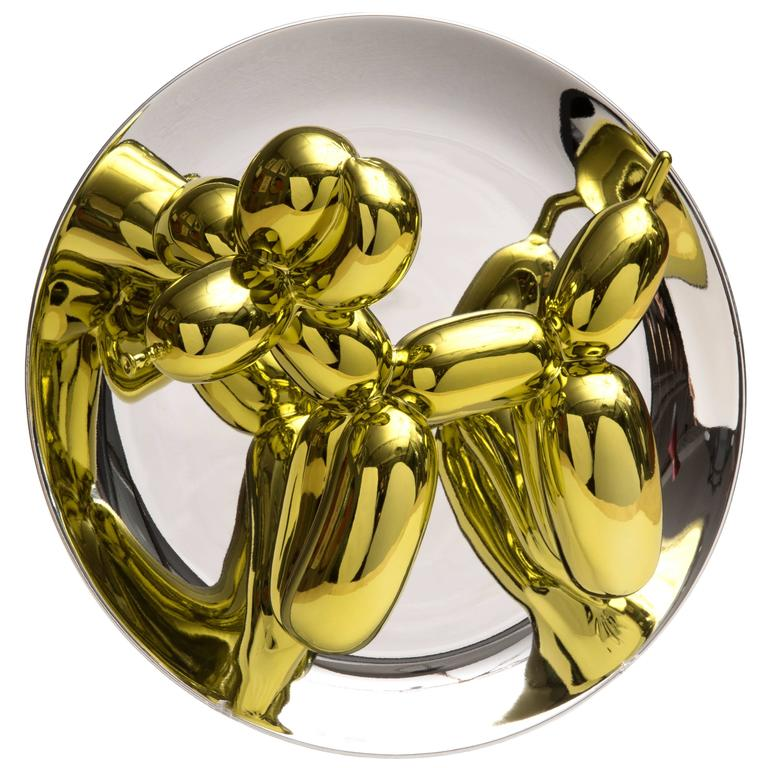 Jeff Koons Balloon Dog Yellow, 2015, Signed and Numbered For Sale