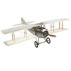 Old Charles Model Aeroplane Transparent Spad Plane Type