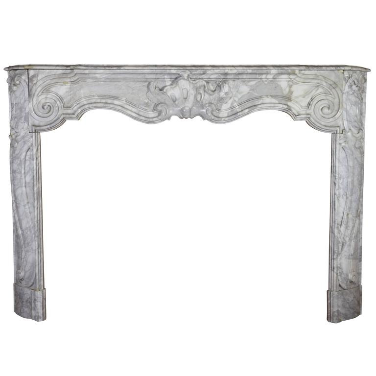 Early 18th Century Fireplace of the Regency Period from Antwerp