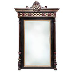 Regency Style Overmantel Mirror