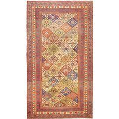 Oversize Tribal Persian Afshar Antique Rug