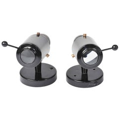 Pair of Wall Lights by Jaques Biny, circa 1950
