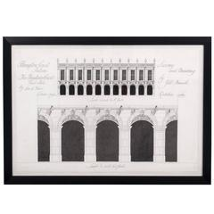 Architectural Survey Drawing of Hampton Court Palace