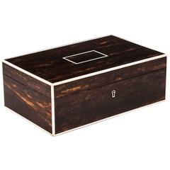 Art Deco Coromandel Cigar Box by Callows of Mayfair