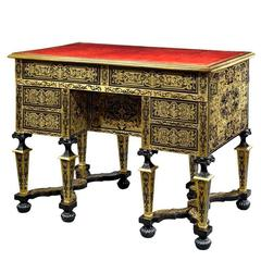 French Boulle Marquetry Desk