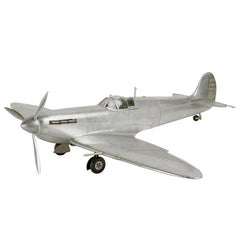 Spitfire Aircraft AP456 Reduced Model