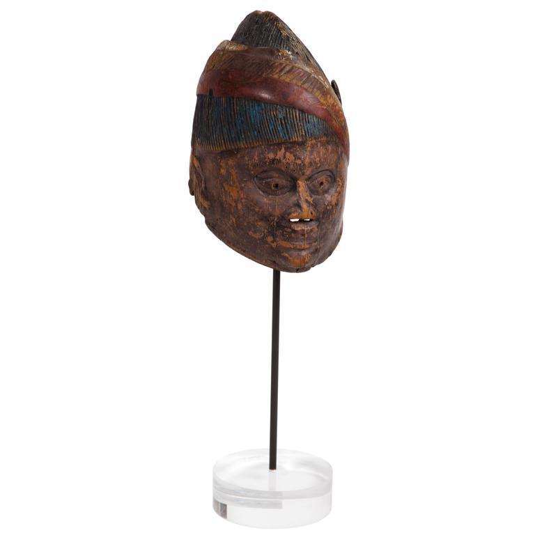 Antique Yoruba Gelede Face Mask