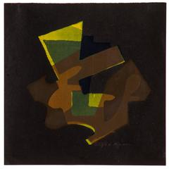 Modernist 1950s Abstract Print