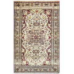 Outstanding Antique Isfahan Ahmad Rug