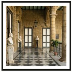 "Framed Photograph ""Museo de los Capitaines"" Havana, Cuba, by Dale Goffigon"