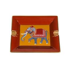 Vintage Hermès Elephant Ashtray