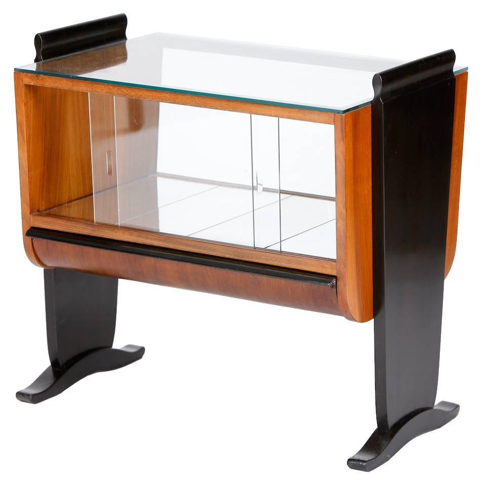 deco bar by jindrich halabala for up zavody in the 1930s at 1stdibs