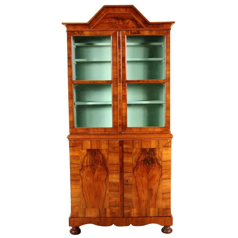 Exotic Kitchen Cabinets: Fine 18th Century Exotic Walnut Cabinet For Sale At 1stdibs