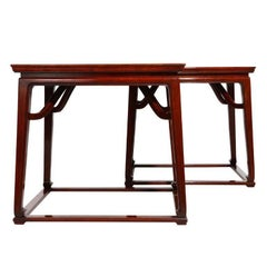 Pair of End Tables by Michael Taylor