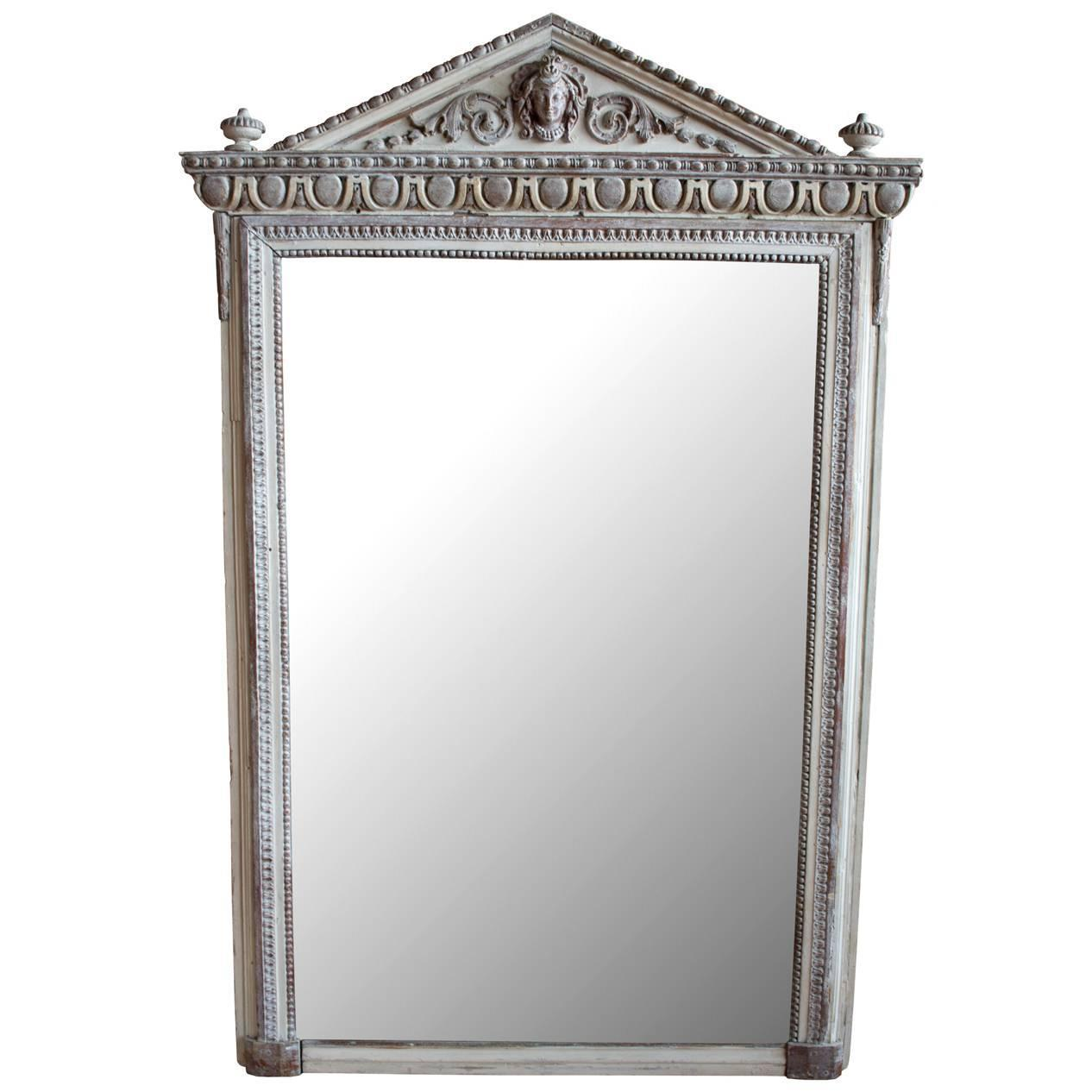 Antique french mirror at 1stdibs for Antique french mirror