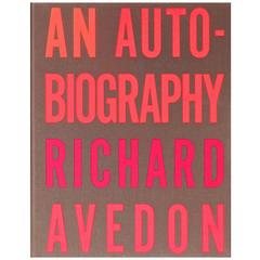"Rare Signed ""An Autobiography"" by Richard Avedon Book, First Edition, 1993"