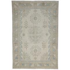 New Transitional Area Rug with Khotan Design in Warm, Neutral Colors