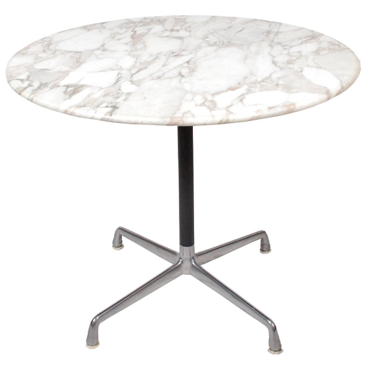 Charles Eames Aluminium Group Dining Table At Stdibs - Eames marble table