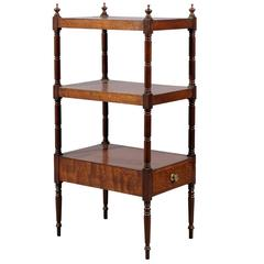 19th Century English Mahogany What Not/Etagere