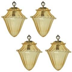 Four Amber Lanterns by La Murrina