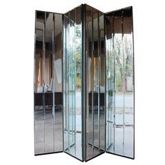 Henredon Mirrored Screen