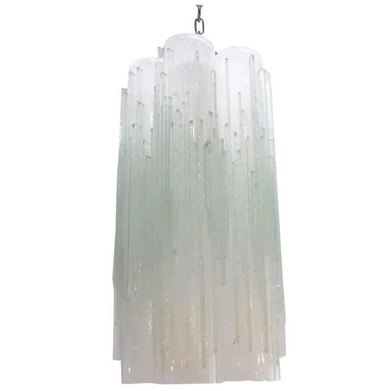 "Italian Murano Glass ""Globula"" Pendant by Poliarte"