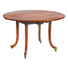 Irish Drop-Leaf Table