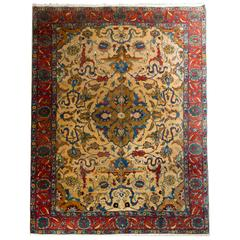 Antique Persian Tabriz rugs