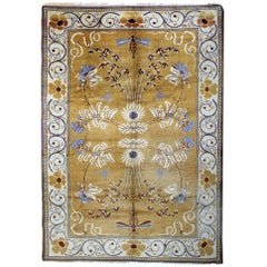 Oriental Rug Gold Antique Rugs, Carpet from Ireland