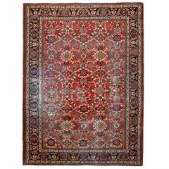 Antique Persian Rugs, Ziegler Mahal Carpet from Sultanabad