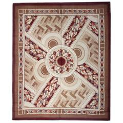 Antique Art Deco Rugs, Carpet from Iceland