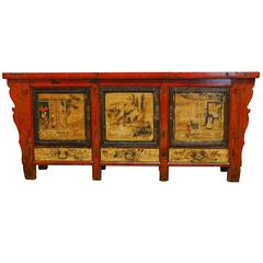 Large Chinese Altar Sideboard Coffer
