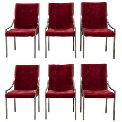 Six Pierre Cardin Dining Chairs for Dillingham