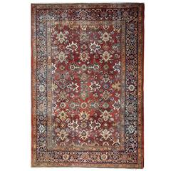 Antique Rugs, Persian Rugs, Ziegler Mahal Carpet from Sultanabad