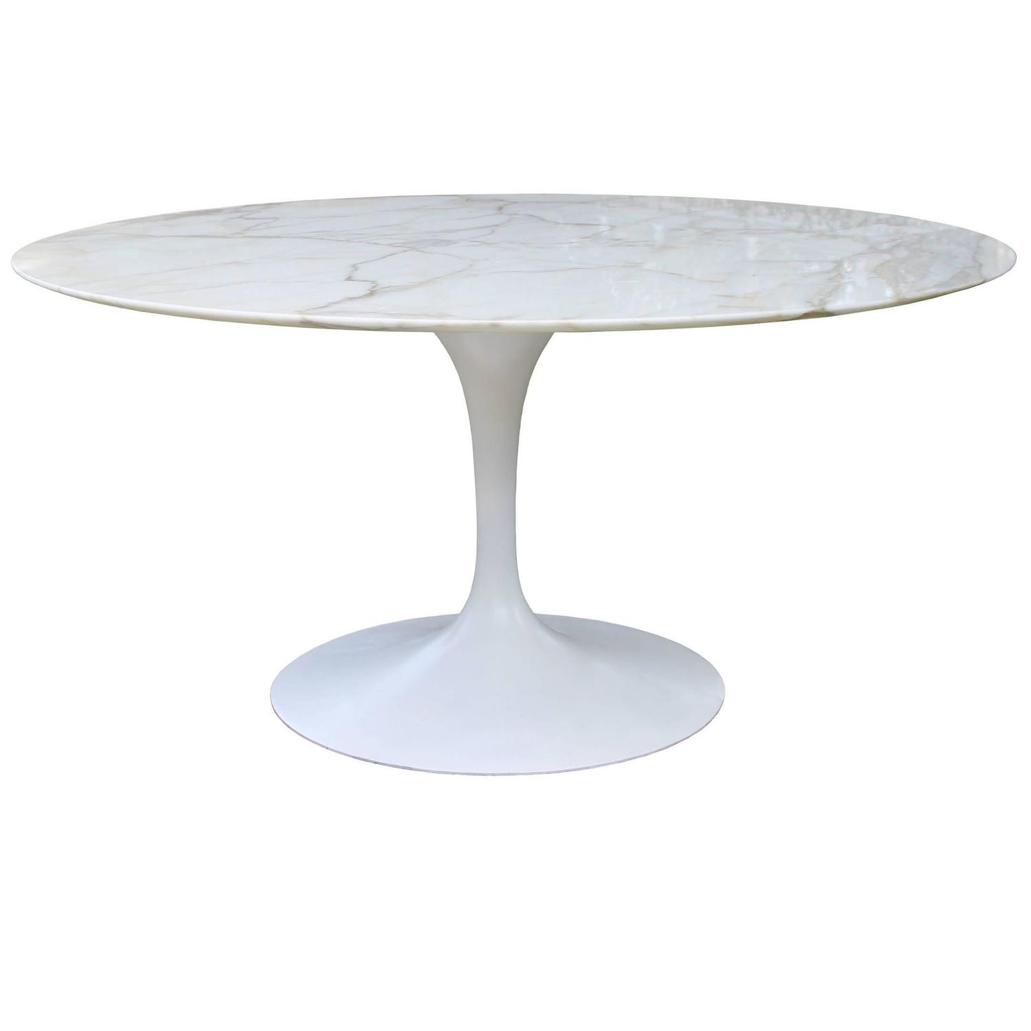 Saarinen Marble Top Table at 1stdibs