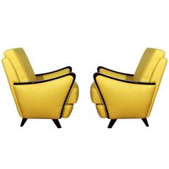Pair of French Armchairs from the 1950s