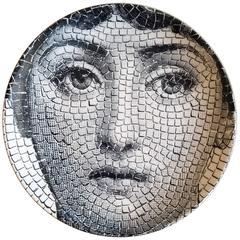 Piero Fornasetti Tema E Variazioni Plate, #131 of Lina Cavalieri's Face