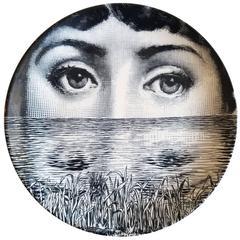 Piero Fornasetti Tema E Variazioni Plate, #89 of Lina Cavalieri's Face.