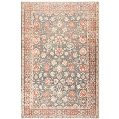 Beautiful Grey Antique Persian Tabriz Rug