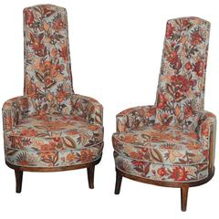 High Back Chairs Adrian Pearsall Style