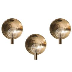 Hans-Agne Jakobsson Set of Three Wall Lamps Model V-180