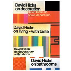 Set of Five David Hicks 1st Edition Books