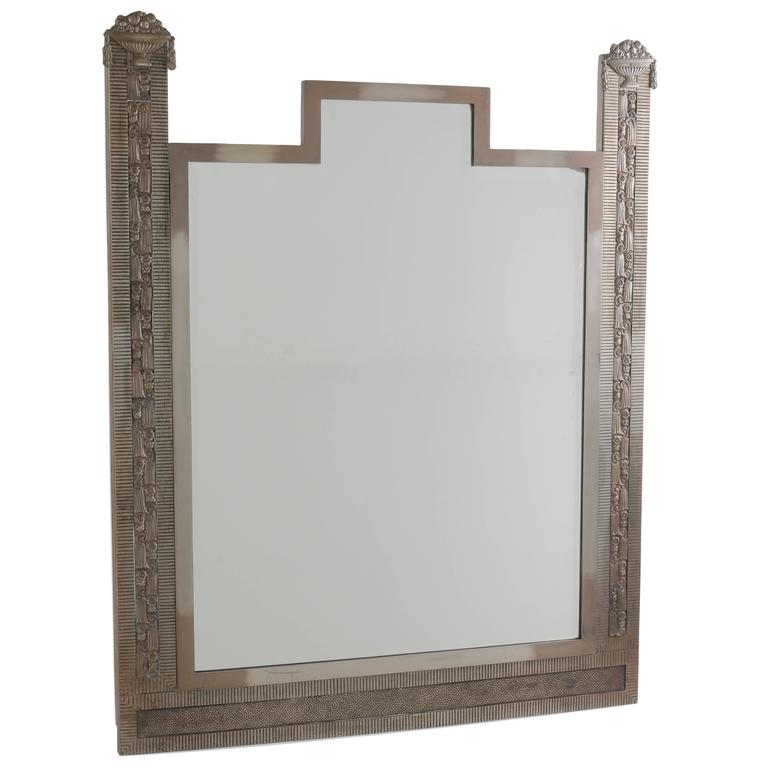 Exceptionally designed french art deco mirror at 1stdibs - Deco spiegel ...