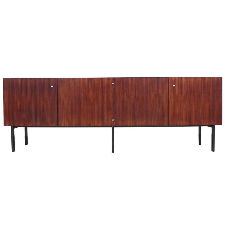 Fonction Meubles rosewood sideboard attributed to etienne fermigier for meubles et