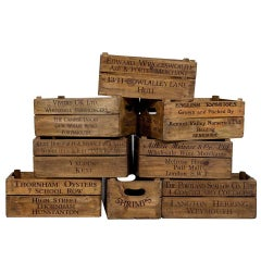 Original Old Wooden Decorative Boxes