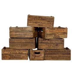 Original Old Wooden Decorative Boxes