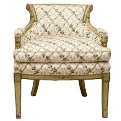 18th Century Directoire Painted Ladies' Chair